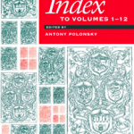 Index to Volumes 1-12